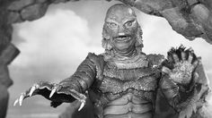 1954's Creature from the Black Lagoon is featured in the new release of Universal's classic monster movies.