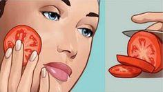 Corta una rodaja de tomate fresco, y ponlo en tu rostro inmediatamente por 2 minutos ¿Lo que sucede? ¡Se lo contarás a todos!