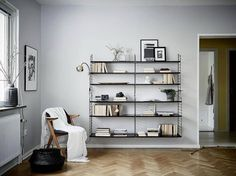 "3,536 Likes, 10 Comments - NORDIK SPACE (@nordikspace) on Instagram: ""Those shelves though! Perfect. via @stadshem #scandinavian #interior #homedecor #simplicity…"""