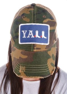 Judith March Camo Y all Hat Redneck Glitter Girl Deer Hunting in Style dece8f69fdb3