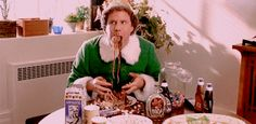 Plus you probably eat twice as much as they do.   Studying Abroad In Paris, As Told By Buddy The Elf