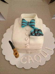 Men´s Cake - this would be fun to make... not sure it suits pat tho... would need a funnier shirt...
