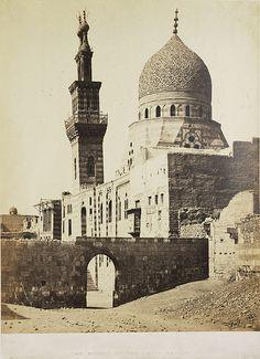 Francis Frith (1822-1898), The Mosque Emeer Akhoor, Amir Akhoor, 1858