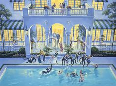 Michael Young / Pool Party