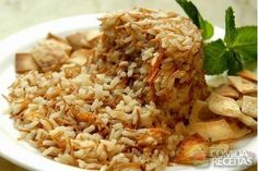 Receita de Arroz sírio especial em receitas de arroz, veja essa e outras receitas aqui!