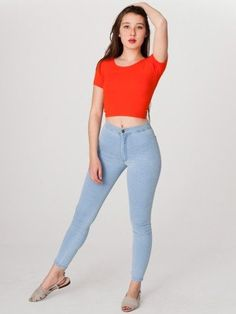 American Apparel Easy Jean $72.00. Totally bought these this weekend...but i payed less than $25 for them ^_^ gotta love groupon. Im going to get another pair!!