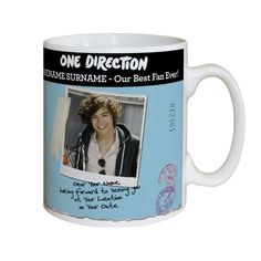 Harry Styles Mug One Direction merchandise Number 1 One Direction Fan £11.99