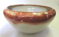 Buy Large Linnware (Linn Ware) bowl. South African art pottery for R1,800.00
