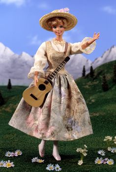 1995 Barbie as Maria in The Sound of Music Barbie®   Barbie Hollywood Legends Collection *HOLLYWOOD