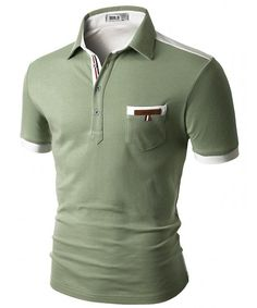 Buy Mens Back Color Blocked Short Sleeves Polo Shirts With Pocket Point - - Shop the latest collection of Men's Shirts enjoy big discount and fast shipping. Polo Shirts With Pockets, Short Sleeve Polo Shirts, Men's Shirts, Polo Shirt Girl, Mens Back, Custom Made Clothing, Branded Shirts, Work Wear, Short Sleeves