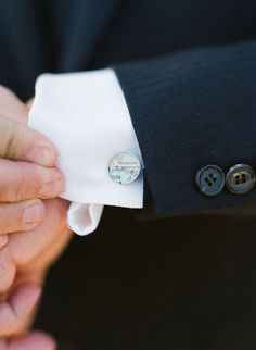 Style Me Pretty Feature   Vintage Map Cufflinks You by dlkdesigns, $50.00