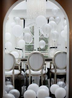 Balony w pomieszczeniach
