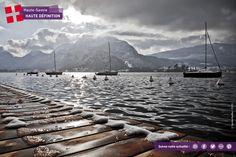 """La """"Venise des Alpes"""" en hiver #annecy #hautesavoie"""