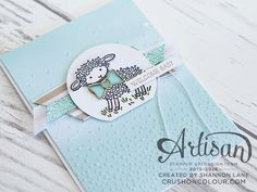 Crush On Colour: Stampin' Up! Artisan Blog Hop - (Not-So) Easter Lamb