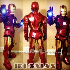 Awesome Homemade Iron Man Costume ... This website is the Pinterest of costumes