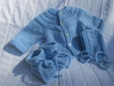 Baby Sweater Set - pinned by pin4etsy.com