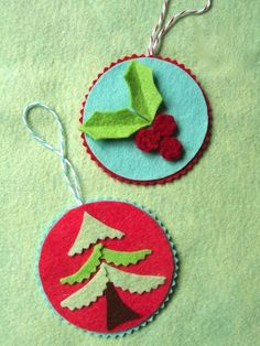 Christmas craft day - ornaments