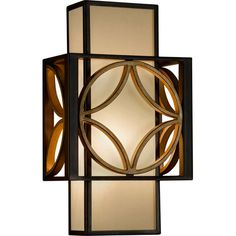Remy Heritage Bronze/Parissiene Gold ADA Sconce. may have to get this for hall. Hmmm