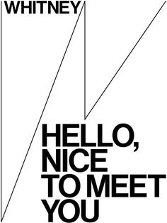 Whitney Museum / Experimental Jetset Museum Identity, Museum Branding, Wireframe Design, Museum Poster, Branding Design, Logo Design, Whitney Museum, Design Museum, Visual Identity