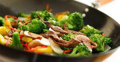 Sortez les baguettes et faites chauffer votre wok!