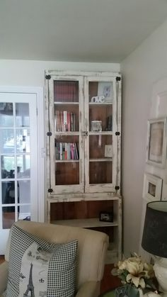 Bookcase China Cabinet, Bookcase, Shelves, Storage, Projects, Furniture, Home Decor, Shelving, Log Projects