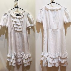 NWT Marc by Marc Jacobs parchment ruffle dress XS NWT Marc by Marc Jacobs parchment dress with ruffles size XS $368 Marc by Marc Jacobs Dresses