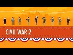 ▶ The Civil War Part 2: Crash Course US History #21 - YouTube