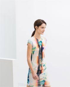 PRINTED DRESS from Zara