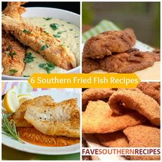 Southern Fried Fish Recipes - Make your own Friday fish fry with these easy fish recipes!
