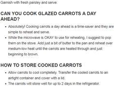 Honey Garlic Butter Roasted Carrots Recipe Glazed Carrots, Roasted Carrots, Cheese Pies, Quick Weeknight Meals, Carrot Recipes, Macaroni Cheese, Oven Roast, Garlic Butter, Caribbean