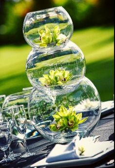Regal fishbowl centerpiece example