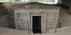 Ελληνικές εκδρομές με σφραγίδα UNESCO Macedonia Greece, Bravest Warriors, Alexander The Great, Virtual Tour, Caves, Planet Earth, Art And Architecture, Beautiful Landscapes, Past
