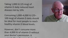 Vitamin D dose International units or micrograms micrograms (mcg) in a milligram (mg) milligrams (mg) in a gram (g) grams in a kilogram (Kg. John Campbell, Vitamin D Deficiency, Muscle Pain, Heart Disease, Health Benefits, Vitamins, Told You So, Motivation, Youtube