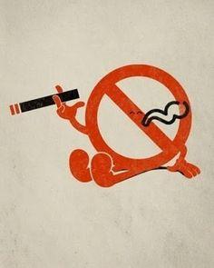 Stop Smoking  Smoking illustration find-on-pinterest