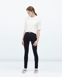 STRETCH JEGGINGS - View all - Jeans - WOMAN | ZARA United States
