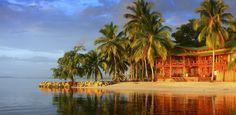 Vue sur un lodge du Panama