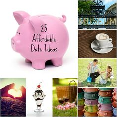 25 Affordable Date Ideas #cheap #date #ideas