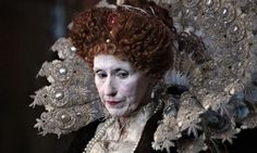 Why is Elizabeth I, the most powerful woman in our history, always depicted as a grotesque? Interesting Article by Kate Maltby. #Elizabethan #Tudor