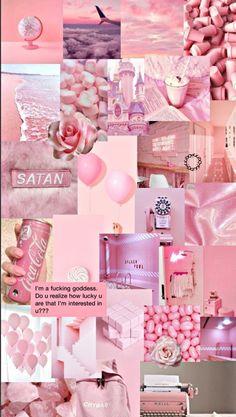 Wallpaper Pink And Orange, Pink Wallpaper Girly, Pink Wallpaper Iphone, Iphone Wallpaper Tumblr Aesthetic, Aesthetic Pastel Wallpaper, Aesthetic Wallpapers, Aesthetic Colors, Flower Aesthetic, Aesthetic Collage