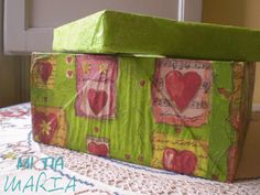 Mi tia María: La Mari tuneadora: DIY - Cajas decoradas I