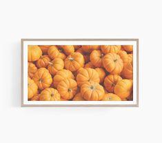 Pumpkins Pile Decor, Autumn Pumpkins Art Tv, Frame Tv Art Autumn, Samsung Frame Tv Art Autumn, Boho Autumn Decor, Art Tv Autumn, Fall Decor