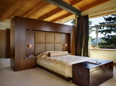 Modern bedroom headboard wardrobe design ideas pictures remodel and