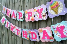 Your place to buy and sell all things handmade 6th Birthday Parties, Mom Birthday, Birthday Party Decorations, Baby Banners, Bday Girl, Pink Glitter, Party Supplies, Birthdays, Creative Banners