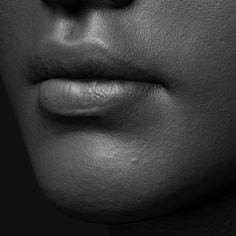 ArtStation - Skin Shading Practice, Ryan Reid