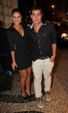 Paloma Bernardi e Thiago Martins