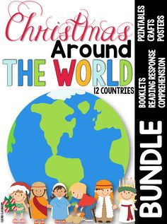 Christmas Around the World Activities for 12 countries and 2 free downloads