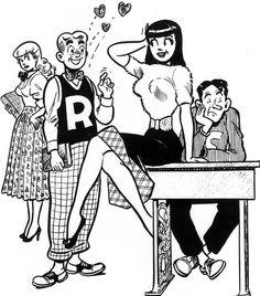 Archie Coloring Page, Archie Comic Publications, Inc… Archie Comics Characters, Archie Comic Books, Comic Book Characters, Comic Character, Riverdale Comic Book, Riverdale Archie, Comic Book Artists, Comic Books Art, Comic Art
