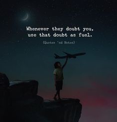 Whenever they doubt you use that doubt as fuel. Photo by: Surya Krisna via (https://ift.tt/2G9djHi)