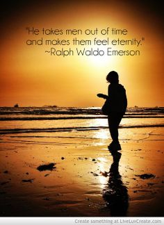 """""""He takes men out of time and makes them feel eternity."""" ~Ralph Waldo Emerson #HappyEaster #EasterSunday"""
