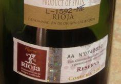 2007 Herederos del Marqués de Riscal Reserva-back label